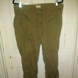 Light olive pants